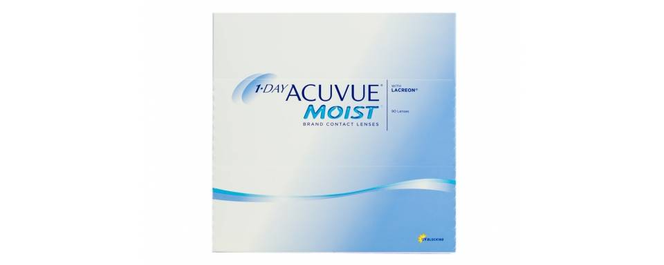 MOIST 1DAY ACUVUE  90 pck